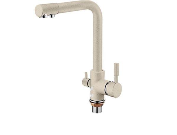 Смеситель для кухни с выходом под очищенную воду 4055k-3