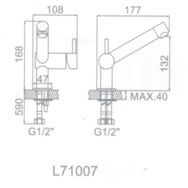 смеситель 71007 характеристики